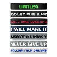 Motivational Wristband Package