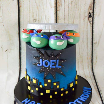 Ninja Turtles Cake Toppers, TMNT, ninja turtles, ninja turtle cake, TMNT cake toppers, TMNT cake decorations, turtle power