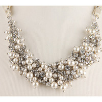 Nina Melaney Necklace Pearl/Crystal - Zappos.com Free Shipping BOTH Ways