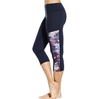 CALIA by Carrie Underwood Women's Essential Printed Panel Capris