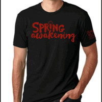 Spring Awakening the Broadway Musical Logo T-shirt