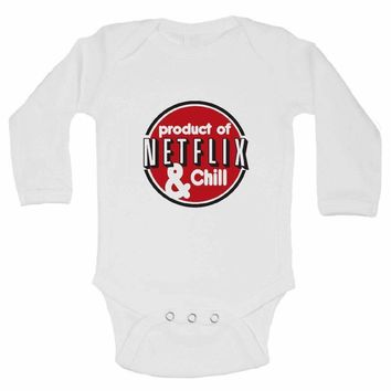 Product Of Netflix & Chill FUNNY KIDS Onesuit