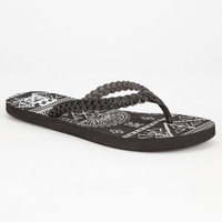 Billabong Salty Sands Womens Sandals Black  In Sizes
