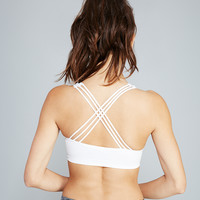 Caged Back Push-Up Sports Bra | Wet Seal