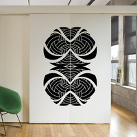 Vinyl Wall Decal Sticker Double Abstract Design #OS_MB1236