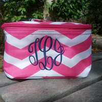 Monogrammed Cosmetic Bag - small