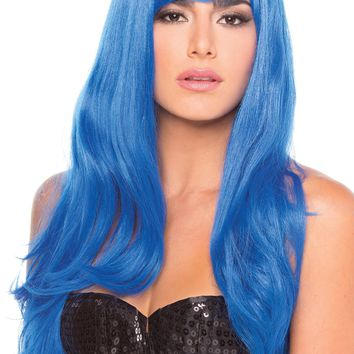 Burlesque Wig Dark Blue