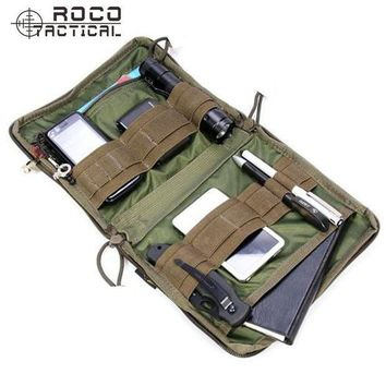 DCCK7N3 ROCOTACTICAL MOLLE EDC Military Low Profile OP Military Utility Accessories Bag Tactical Organizer Stealth Admin Organizer Pouch
