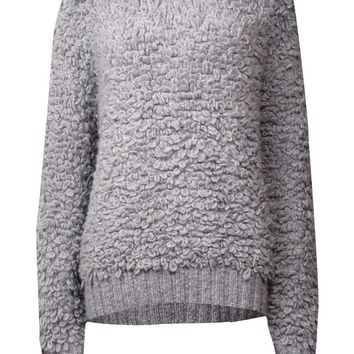 MICHAEL Michael Kors Women's Wool Blend Loop Sweater