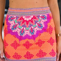Bonfire Heart Skirt