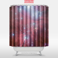 The Cone Nebula NGC (2264) Space Shower Curtain Home & Living 003