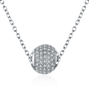 Shiny Stylish Gift New Arrival Korean Jewelry Accessory Simple Design Pendant Necklace [4918330884]