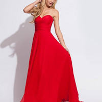 Sweetheart neckline gown 78219 - Prom Dresses
