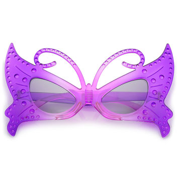 Novelty Masquerade Fairy Butterfly Costume Sunglasses C168