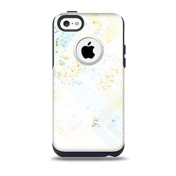 The Bright Light Vintage Yellow Surface Skin for the iPhone 5c OtterBox Commuter Case
