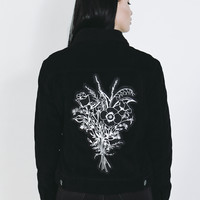 Hand-tie Cord Embroidered Jacket