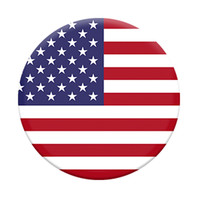 Popsocket Phone Grip & Stand -American Flag, Red-White-Blue