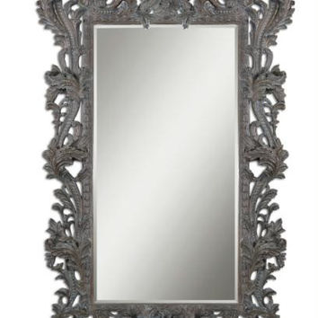 Wall Mirror - Burnished Edges