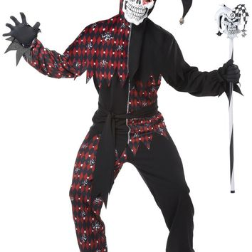 California Costumes Male Sinister Jester Costume CC01372