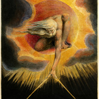 William Blake Ancient Of Days Classic Art Print