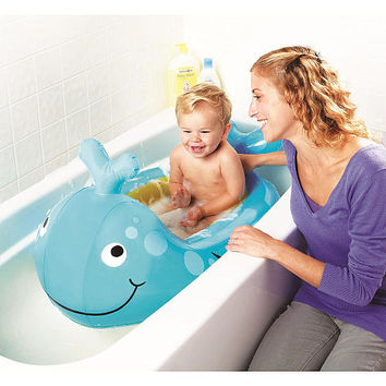 Babies R Us Inflatable Whale Tub - Blue