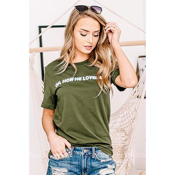 Oh How He Loves Us Graphic Tee