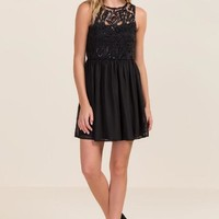 Camila embroidered lace dress