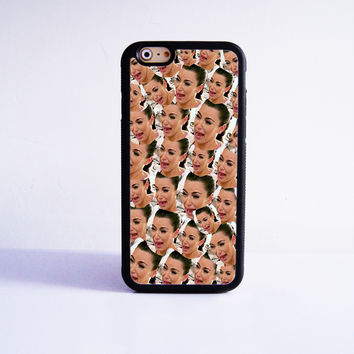 Funny Kim Kardashian Crying Collection Rubber Case Cover for Apple iPhone 4 4s 5 SE 5s 5c 6 6s Plus
