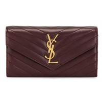 Saint Laurent 'monogram' Wallet - Luisa World - Farfetch.com