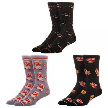 Wonder Woman 3 Pack Crew Set Socks