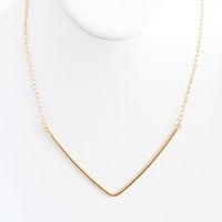 Gold Vendetta Necklace - Necklace