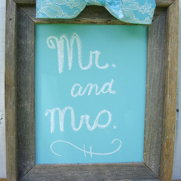 Rustic 8x10 Chalkboard, Baby Shower, Bridal Shower, Wedding Sign, Baby Photo Prop, Hostess Gift, Country Chic Home Decor, Shabby Chic