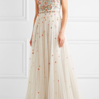 Jenny Packham - Embroidered tulle gown