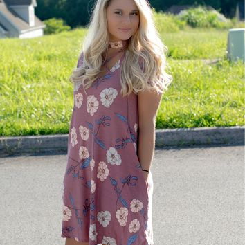 She's got it all Floral Dress