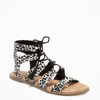 Patterned Gladiator Sandals for Women | Old Navy