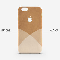 iPhone case - white shades on wood pattern - iPhone 6s case, iPhone 6s Plus, iPhone 6 case, iPhone 5s case, iPhone 6 Plus, matte, L28