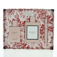 Gucci Bloom By Gucci 3 Piece Gift Set - 3.3 Oz Eau De Parfum Spray, 3.3 Oz Body Lotion, 0.25 Oz Eau De Parfum Fragrance