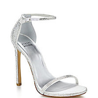 Stuart Weitzman - Pavé Nudist Swarovski Crystal Sandals - Saks Fifth Avenue Mobile