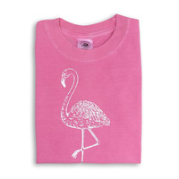 Flamingo Short Sleeve Tee