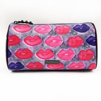 Bleeding Lips Large Cosmetic Bag
