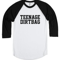 Teenage Dirtbag-Unisex White/Black T-Shirt