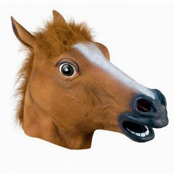 Halloween / Cosplay Horse Mask