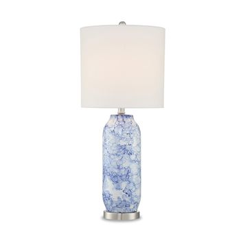 Rouen Table Lamp LILY BLUE