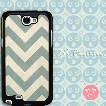 Samsung Galaxy Note 2 Case Samsung Note 2 Case Galaxy Note 2 Zig Zag Case Durable Plastic with Metal Plate