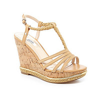 Guess Hilary Wedge Sandals - Ambra/Natural
