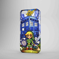 The Legends Of Zelda Protec Tardis iPhone Case Galaxy Case 3D Case