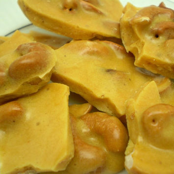 Homemade Cashew Brittle Candy  4 Snack Size Individual by justByou