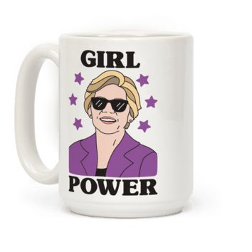 GIRL POWER ELIZABETH WARREN MUG