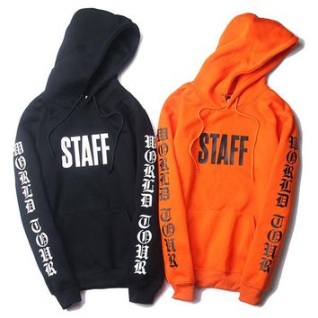 Purpose Tour Staff Hoodies Fear of God Sweatshirt Jacket men women autumn winter coat tracksuit hip hop streetwear pullover oversized fleece
