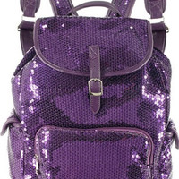 Glamour Girl Back Pack Purple
